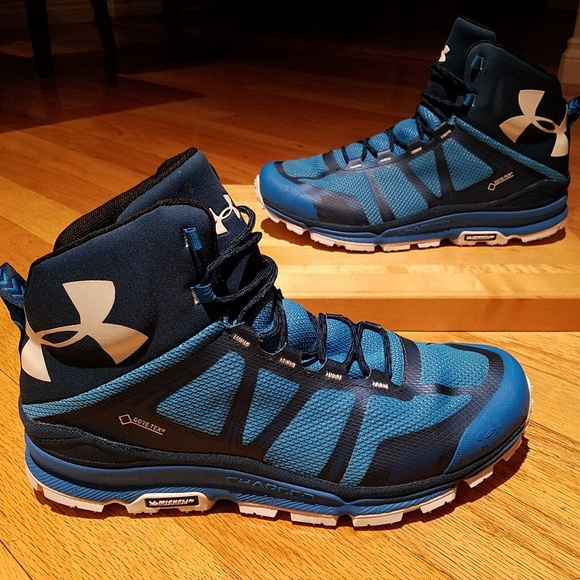 2b632b79e32 Under Armour Verge GTX Blue Hiking Boots Size 13